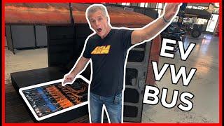 homepage tile video photo for EV West VW BUS Gets AEM EV GOODIES!