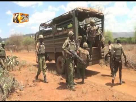 KDF officers land in Baringo