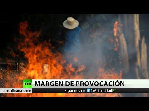 Bolsonaro acusa a las ONG de estar detrás de los incendios en la Amazonía