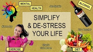 #charitacolebrown #karenasp #lisaboucher #jenepstein lisa boucher, jen epstein, charita cole brown and karen asp discuss how to simplify de-stress your l...