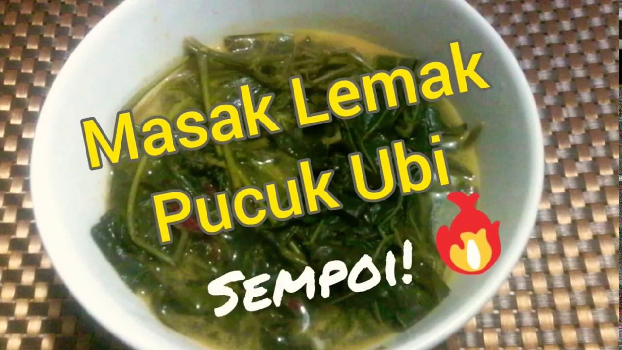 Resepi Masak Lemak Pucuk Ubi Sempoi!! Mudah dan Simple - YouTube
