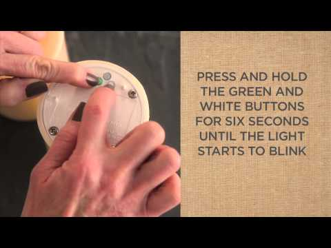 How To Set The Timer For Flameless Candles | Pottery Barn