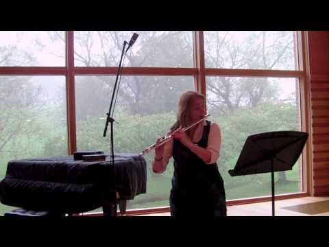 Sarabande - Movt 3 from J S Bach Solo Partita in A minor (Jennifer Stinton - Flute)