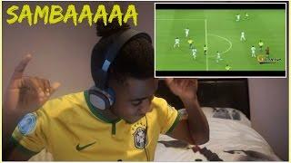 Brazil 06' SAMBA FOOTBALL 🙌✨ | Reaction