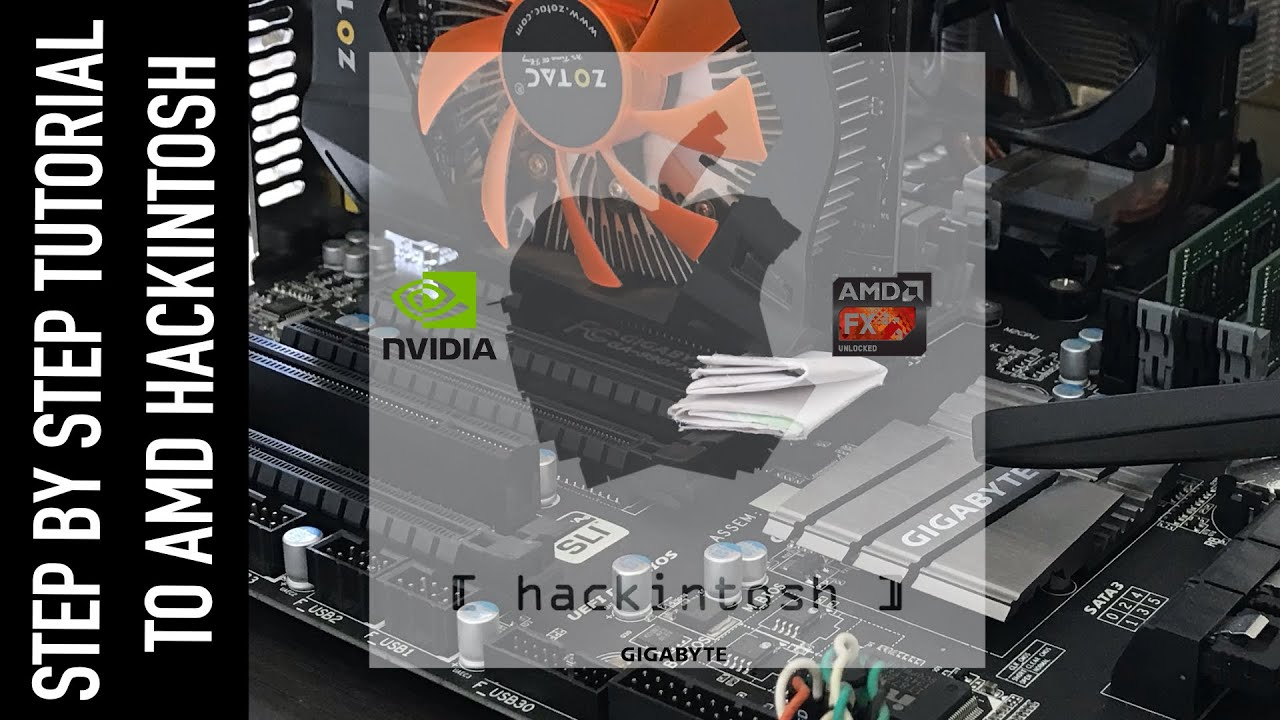 AMD Hackintosh 2019 | Step-by-Step Short Tutorial | High Sierra