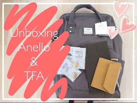 Unboxing Anello & Traveler's Factory
