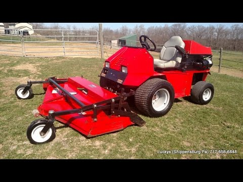 steiner 230 tractor with 72 mower and lawn leaf blower. Black Bedroom Furniture Sets. Home Design Ideas