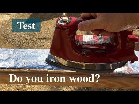 ねじれた木材にアイロンをかける/Trying to straighten twisted wood  [subtitles available]