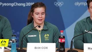Pre-Competition moguls press conference