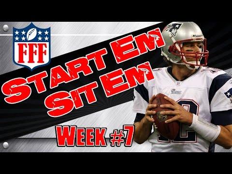 Week 7 Start
