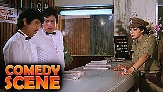 Sridevi & kader khan | comedy scene | jawab hum denge | jackie shroff, shatrughan sinha | hd