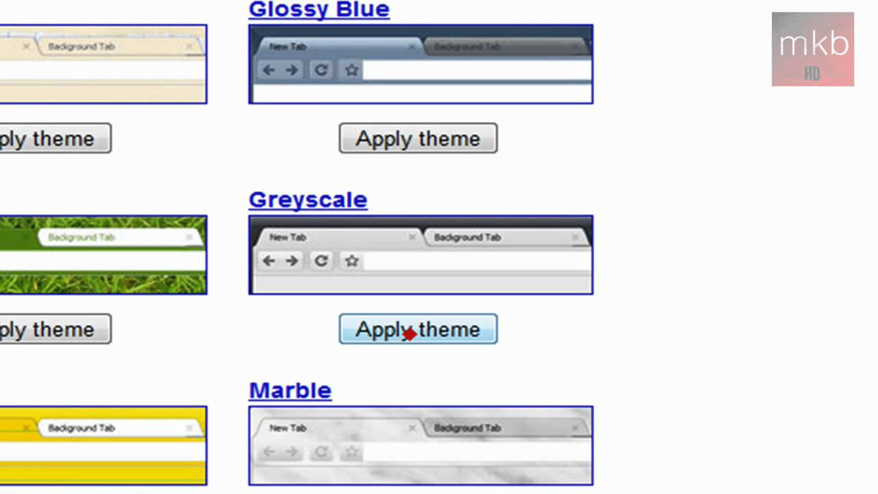 Google Chrome 3 0 / 4 0 Themes [HD]