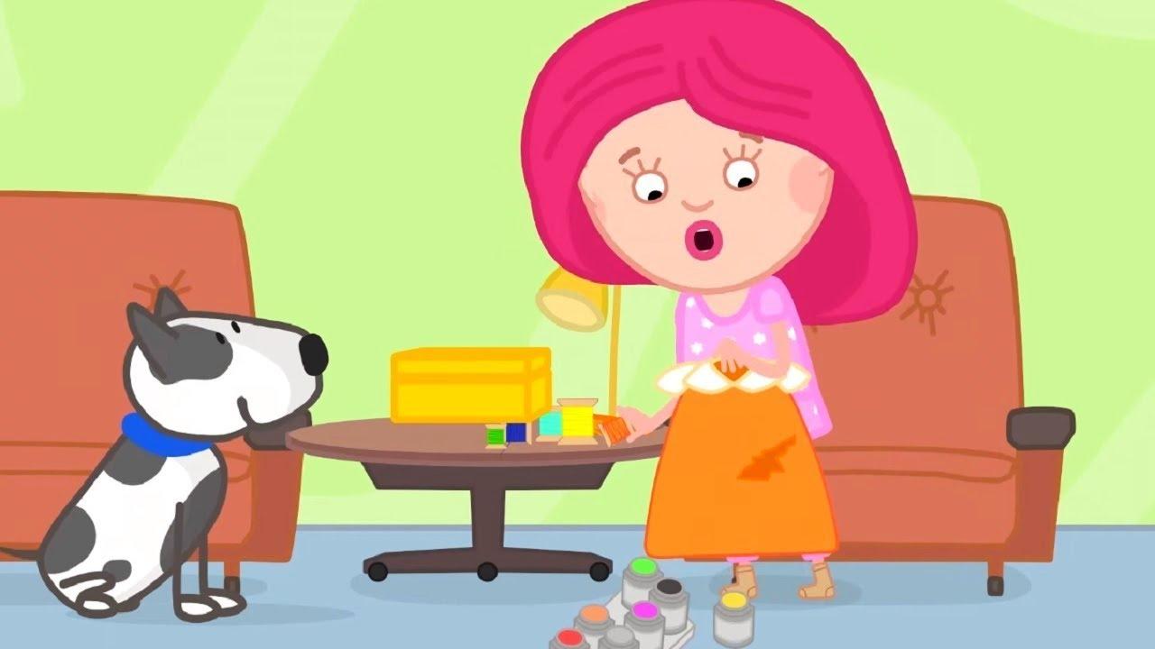 Мультики - Смарта и Чудо-сумка - Нитки  - Развивающие мультфильмы