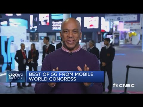 Mobile World Congress showcases potential of 5G networks