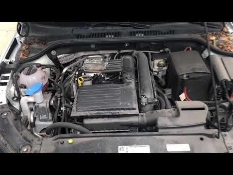 Volkswagen Jetta – Coolant location
