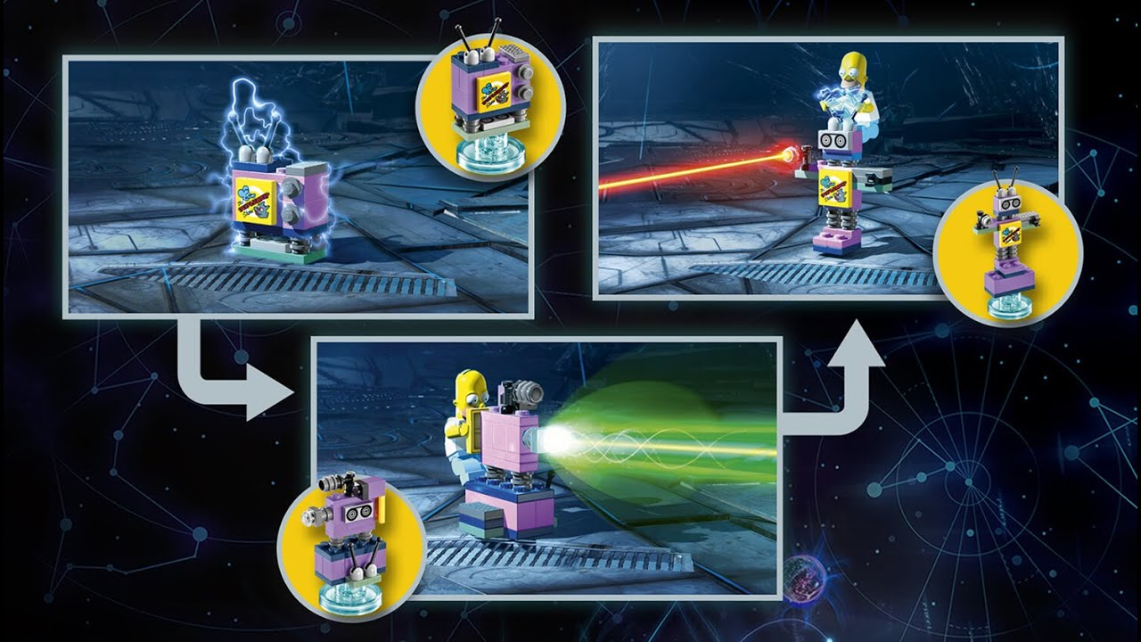 simpsons lego dimensions instructions