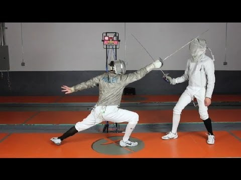Saber Fencing Techniques : The Sport of Fencing