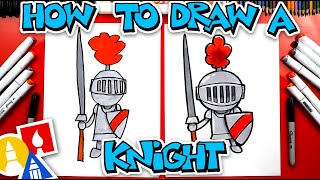 How To Draw A Knight In Shining Armor - #stayhome and draw #withme
