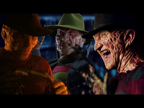 The Evolution of Freddy Krueger (1984-2010)