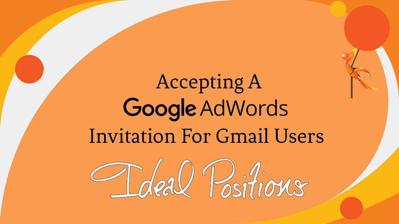 Accepting a google adwords invitation for gmail users youtube stopboris Gallery