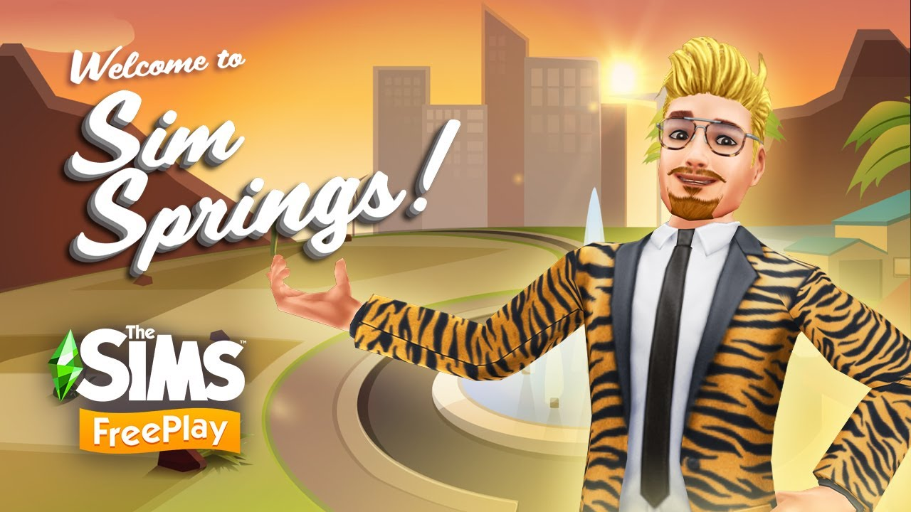 The Sims FreePlay - Sim Springs Feature Trailer