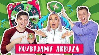 Rozbijamy arbuza na głowie #2  Smav i Dominik Rupiński - WATERMELON SMASH   Agnieszka Grzelak Vlog