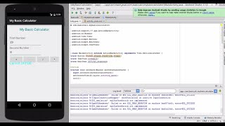 Building a Simple Calculator using Android Studio