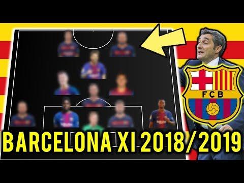 FC Barcelona Possible Line Up XI 2018/2019 Ft Messi, Thiago, Lenglet thumbnail