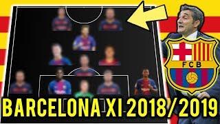 Baixar FC Barcelona Possible Line Up XI 2018/2019 Ft Messi, Thiago, Lenglet
