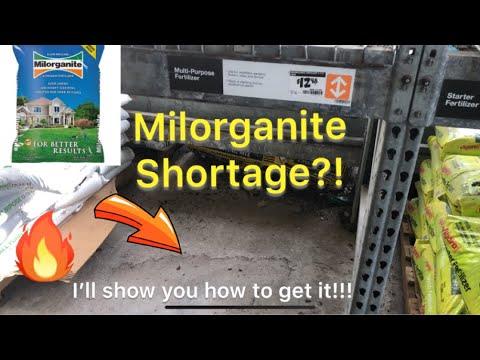 Milorganite Shortage?!