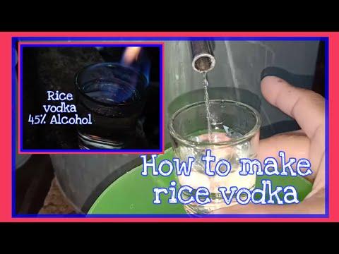 How To Make Rice Vodka