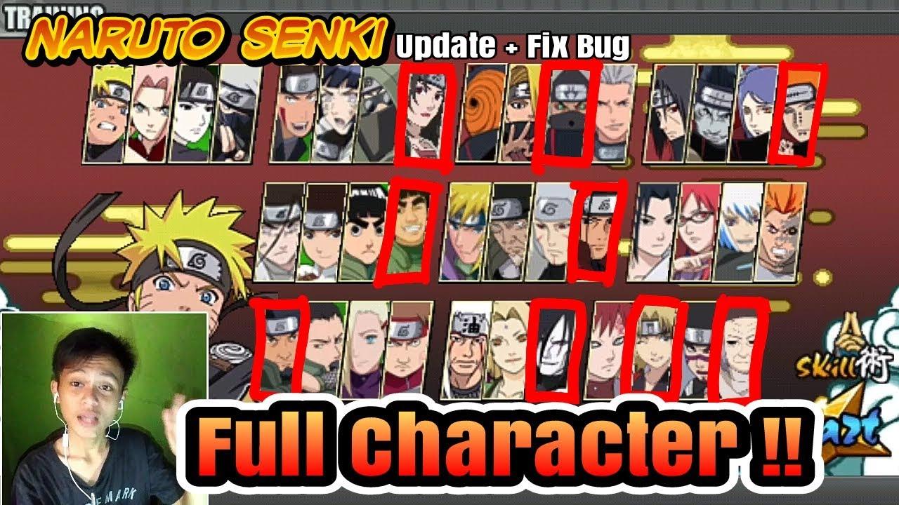 download naruto senki beta version 1.20