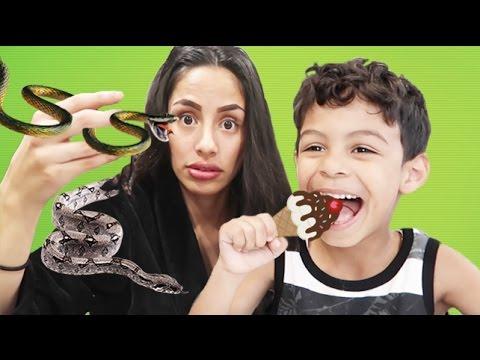 Real Food vs Gummy Food!!!!