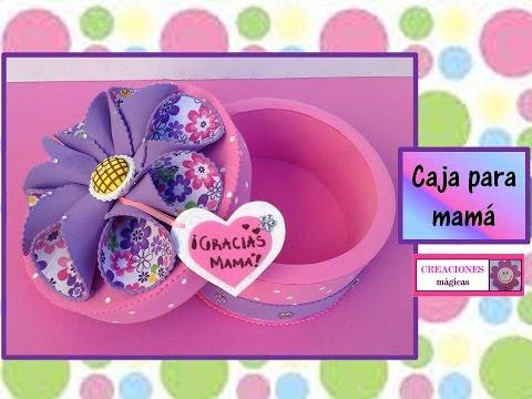 Caja para chocolatesRegalos para mamCreaciones mgicas