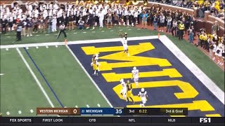 2018: Michigan 49 Western Michigan 3