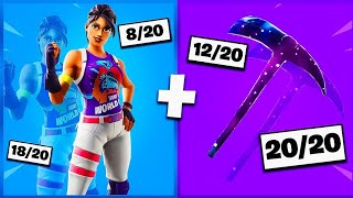 🔥 I NOTE YOUR 20 TRYHARD SKIN COMBOS ON FORTNITE! v17