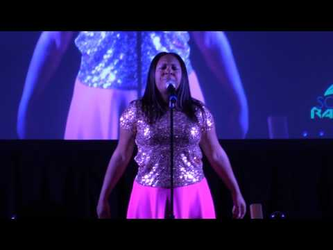 1st SOAR Radio Awards - Donishisa Ballard singing Incredible God, Incredible Praise