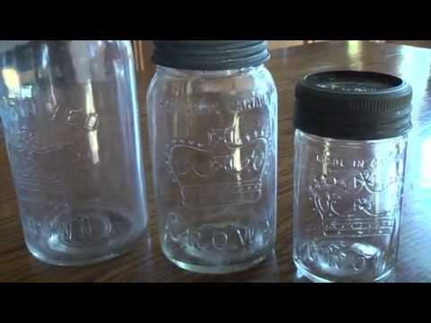 Vintage Canning Jars Youtube