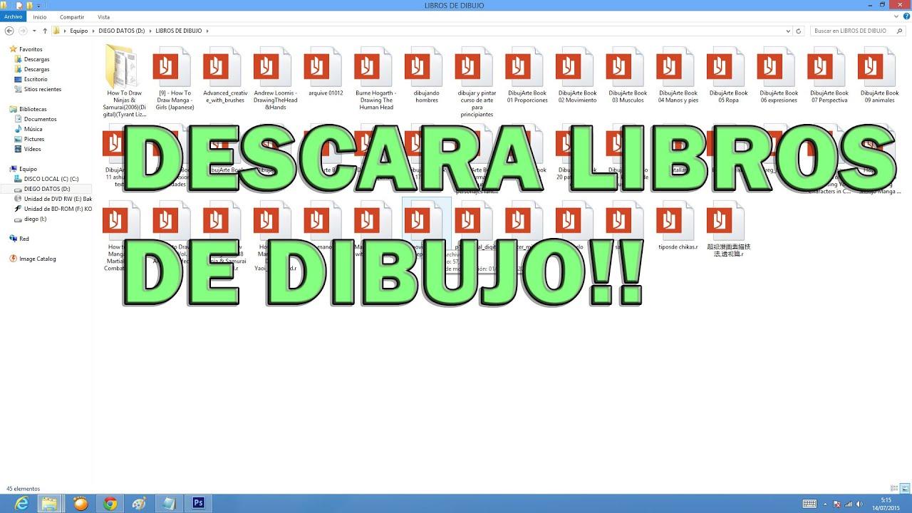 DESCARGA PACK DE IMAGENES DE REFERENCIA Y LIBROS DE DIBUJO