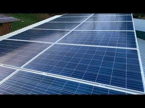 Солнечные батареи.Установка и схема подключения.