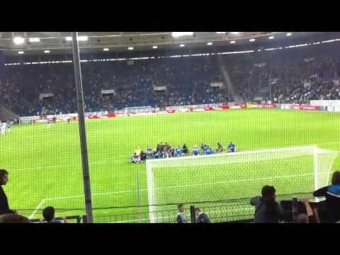 Hoffenheim - Schalke 10.09.2010 Freistoß Salihović