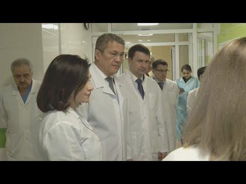 UTV. Радий Хабиров раскритиковал хвалебные доклады врачей