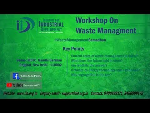 Waste Management | IID Live | Entrepreneur India TV |