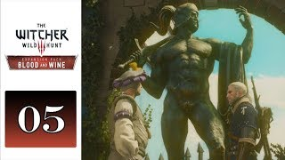 Let's Play The Witcher 3: Blood and Wine DLC (Blind) - 05 - Great Balls of Granite