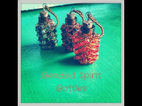 Beaded Spirit Bottles