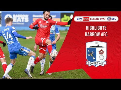 Barrow Crawley Town Goals And Highlights
