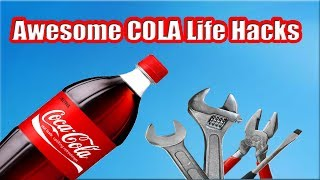 Awesome Coca Cola Life Hacks - HOW TO MAKE A NICE COLA CANDLE