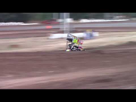 Cottage Grove Speedway, OR - 125cc Cage-Kart A Main - Sept. 2, 2017