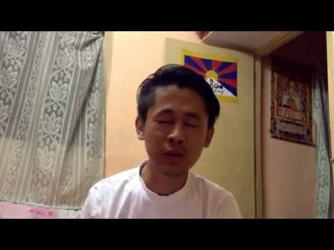 Naan pogiren-Tamil song covered by a Tibetan Guy
