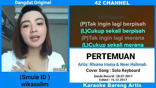 Download Mp3 Pertemuan Smule No Vocal Bareng Artis Wika Salim #duet Enak Smule